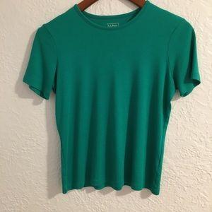 LL Bean cotton crewneck t-shirt